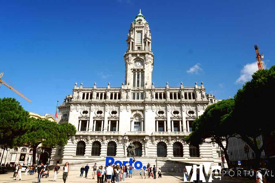 Avenida dos Aliados guía de Oporto