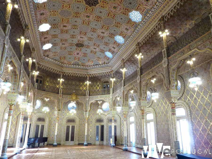 Sala Árabe del Palacio de la Bolsa guía de Oporto