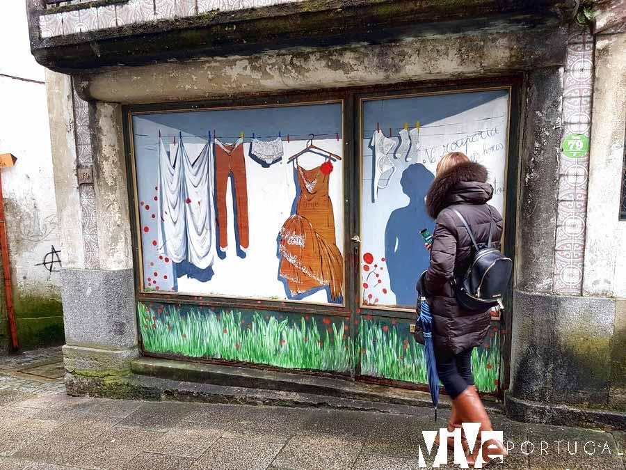 Arte urbano en Amarante