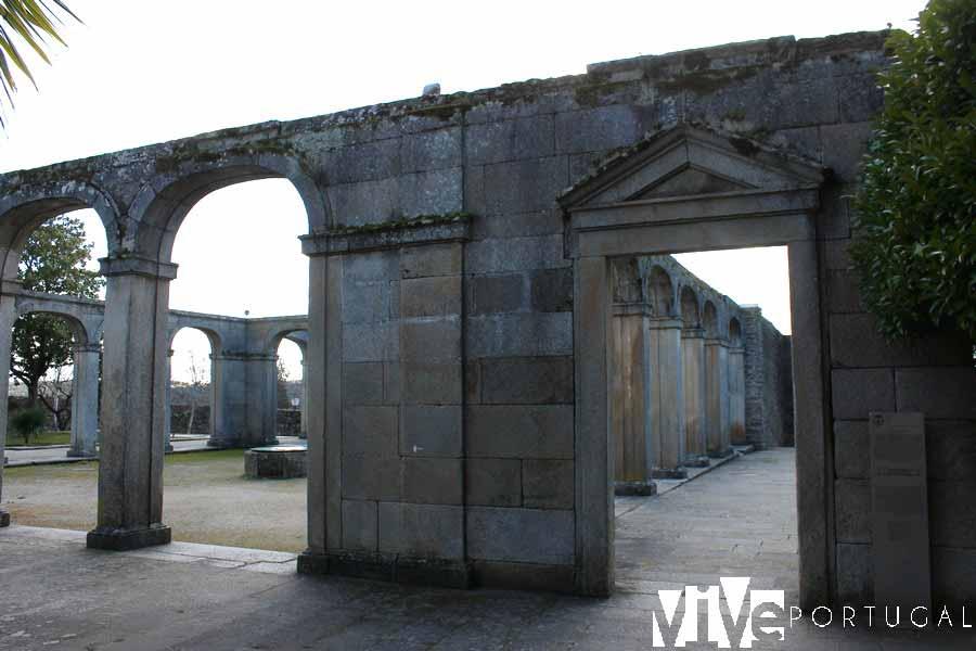Restos del Palacio Episcopal de Miranda do Douro