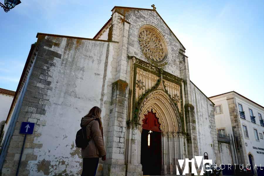 Fachada de la iglesia de Nuestra Señora de Graça que ver en Santarém