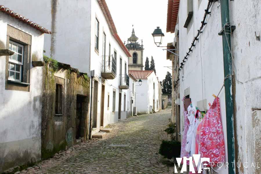 Una calle de Almeida Portugal