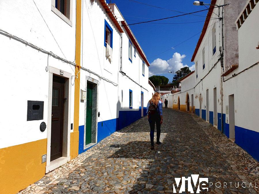Barrio el castillo de Vila Viçosa