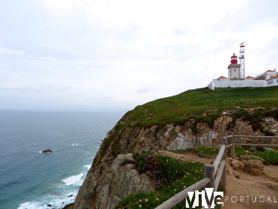Faro del Cabo de Roca Sintra faros de Portugal
