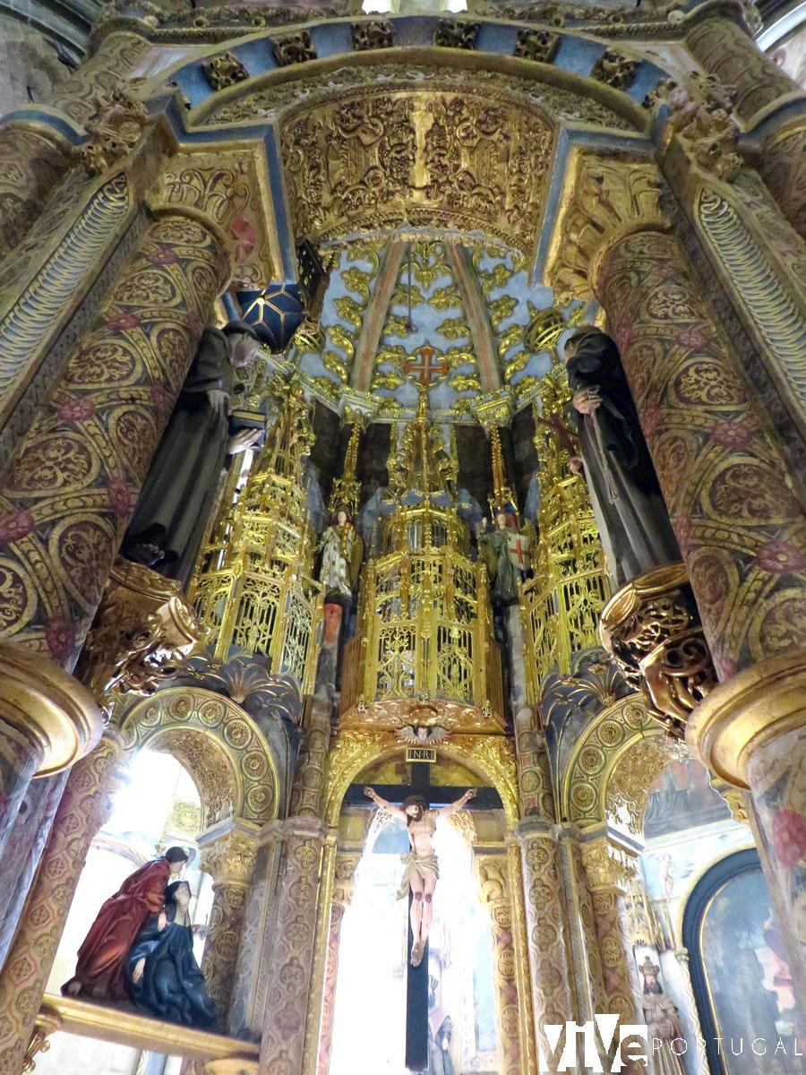 Charola del Convento de Cristo qué ver en Tomar
