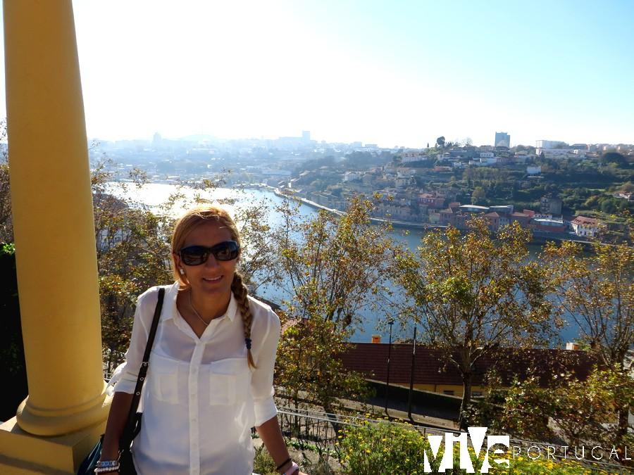 Jardines del Palacio de Cristal miradores de Oporto