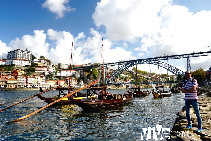 Vista desde las bodegas de Gaia miradores de Oporto