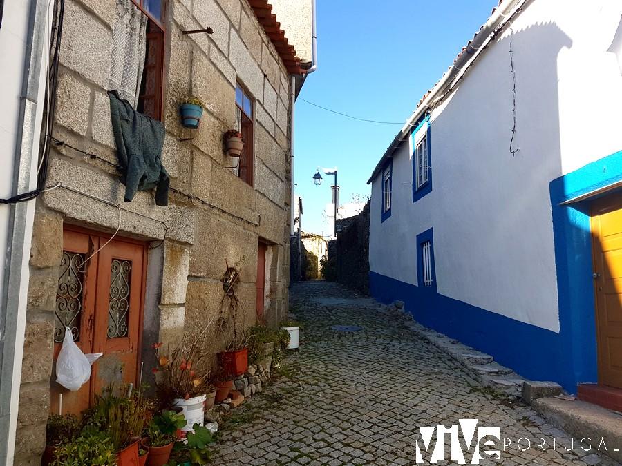 Una calle de Trancoso Portugal