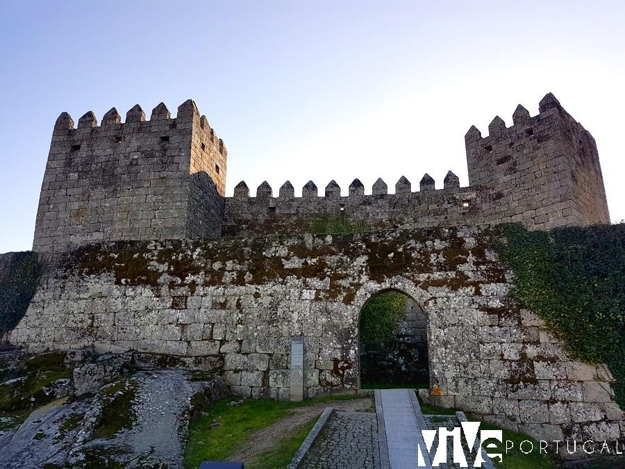 Castelo de Trancoso desde la porta da Traiçao