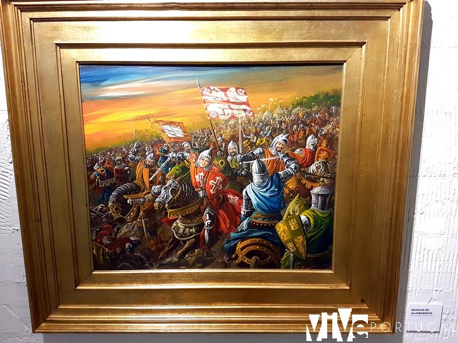 La batalla de Aljubarrota, por José Manuel Soares