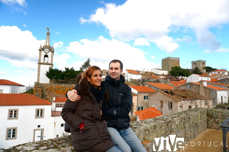 Sobre la muralla de Pinhel Portugal