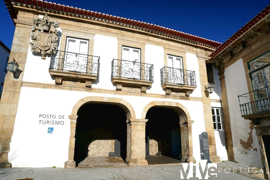 Posto de Turismo, antiguos Paços do Concelho Pinhel Portugal