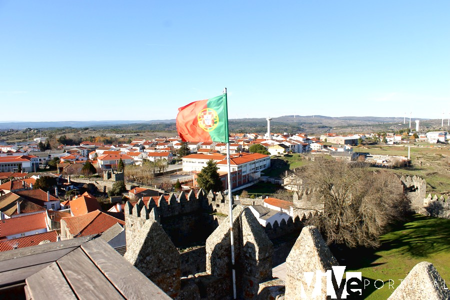 Vistas desde la Torre de Menagem Trancoso Portugal