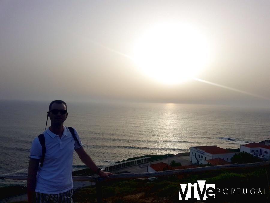 Atardecer en el mirador del Cabo Mondego