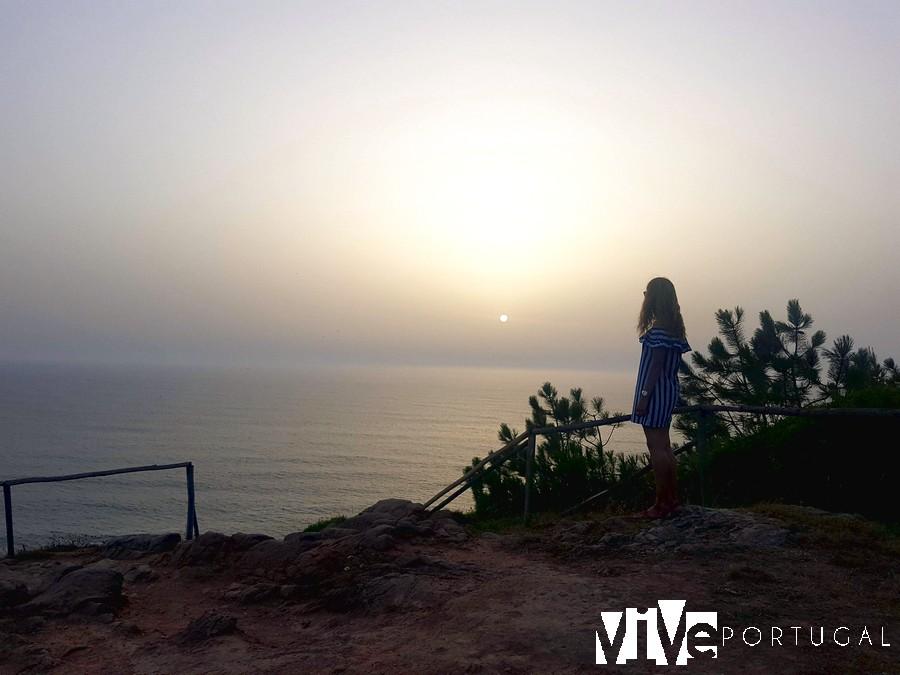 Otra imagen del atardecer que vivimos en el Cabo Mondego
